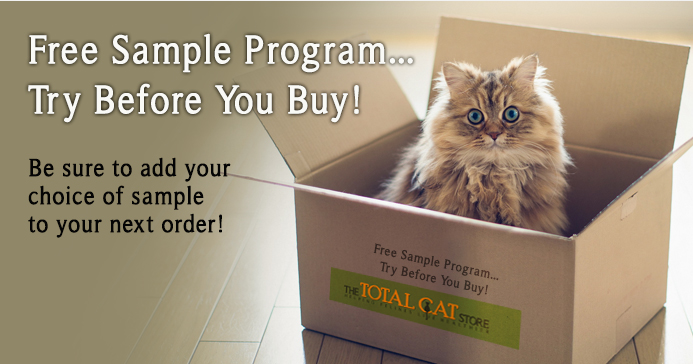 Free Sample Program by The Total Cat Store
